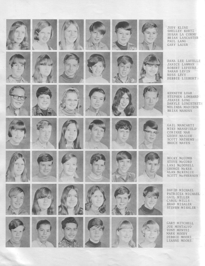 Encina High School 1973 Jonas Salk 8th Photos